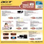 Acer Aspire Desktop PCs M5800 Mini PC X3810 M7720 Gaming