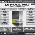 Amconics RCA L9 Media Player Real HD MKV MOV