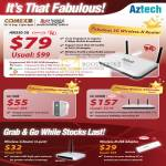 Aztech 3G Wireless N G Router HomePlug Extender USB Adaptor