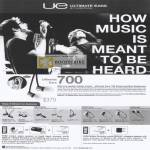 Ban Leong Ultimate Ears 700 TripleFi SuperFi MetroFi LoudEnough