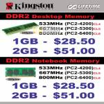 Kingston DDR2 B6346
