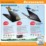 Lenovo Ideapad Notebooks U330 Ultra Mobility