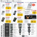 Olympus Digital Voice Recorders WS DS VN
