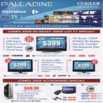 Palladine LCD TV HDMI DVD Player Cables Wallmount Carrefour