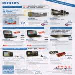Philips Home Theater Portable DVD Blu Ray GoGear Flash Mp3 Player