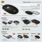 Powerlogic Mouse Optical Laser Zen Z1 GLX USB Air 2GO Zero