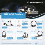 Sennheiser Headphones HD400 CX300 PX100 PX200 PXC250 PXC300 PC31