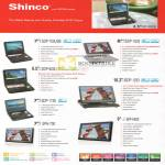 Shinco Portable DVD Player ISDP 700USB 1833 800USB 1233 1735 700 SPH 900