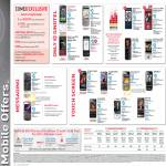 Singtel Mobile Phone Offers Nokia HTC Sony Ericsson LG Samsung GD900 Crystal Viewty Arena