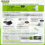 Starhub Mobile Broadband MaxMobile Elite Gateway LT20 LG Mini X120