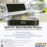 Western Digital WD TV Mini Media Player USB