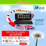 IKnow Besta CD-668S Chinese English E-Dictionary