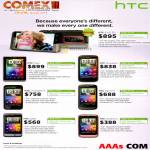 HTC Smartphones Flyer Sensation Incredible S Desire S Salsa Wildfire S