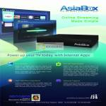 AsiaBox Media Player Features Internet Apps