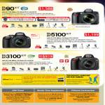 Digital Cameras DSLR D90 Kit D5100 D3100