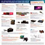 Rewards Courts EpiCentre Fujitsu Toshiba Ban Leong Belkin InFocus Tagus 6Range Audio Technica Notebook