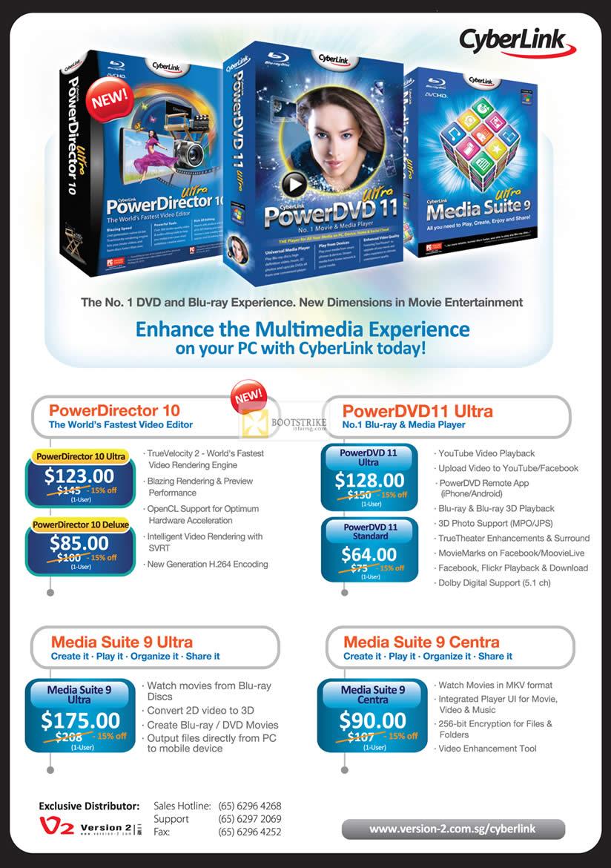 CyberLink Software PowerDirector pricing