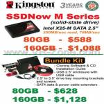 Kingston SSD Now M Series Solid State Drive Intel