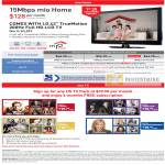 Singnet Mio Home Mio TV LG 42 TrueMotion LCD TV