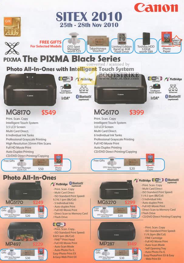 Canon pixma mx36, mx410 и mx420 - новые мфу