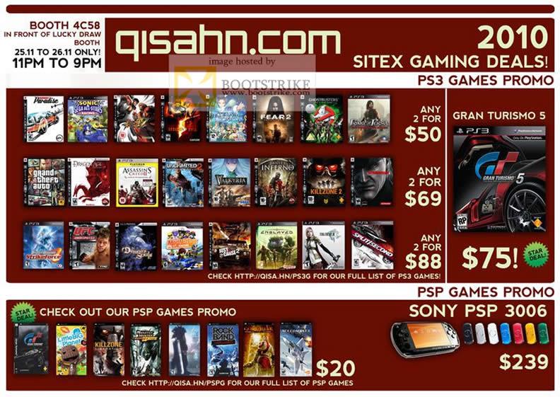 Qisahn Com PS3 Games PSP Games Sony PSP 3006 Gran Turismo ...