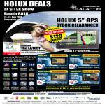 Eastgear Holux GPS Galactio V8 61F 62F I6800 62AS