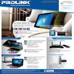 Fida Prolink Tablet PC TW8 Touch Glee SW9 Netbook UW2 3G Modem Powerline Router Adapter
