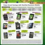 Starhub Business Mobile Phones Blackberry HTC 7 Mozard Motorola Sony Ericsson Nokia C7 Galaxy Beam E72