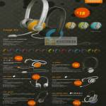 The Headphones Gallery Sonicgear Loop IIx Headset XBS3300 X 1000 BS 200 BS 280 TGC 1000 HS 2000 Pro