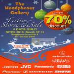 The Headphones Gallery Storewide Sale Jabra JVC Panasonic Skull Candy Pioneer Shure