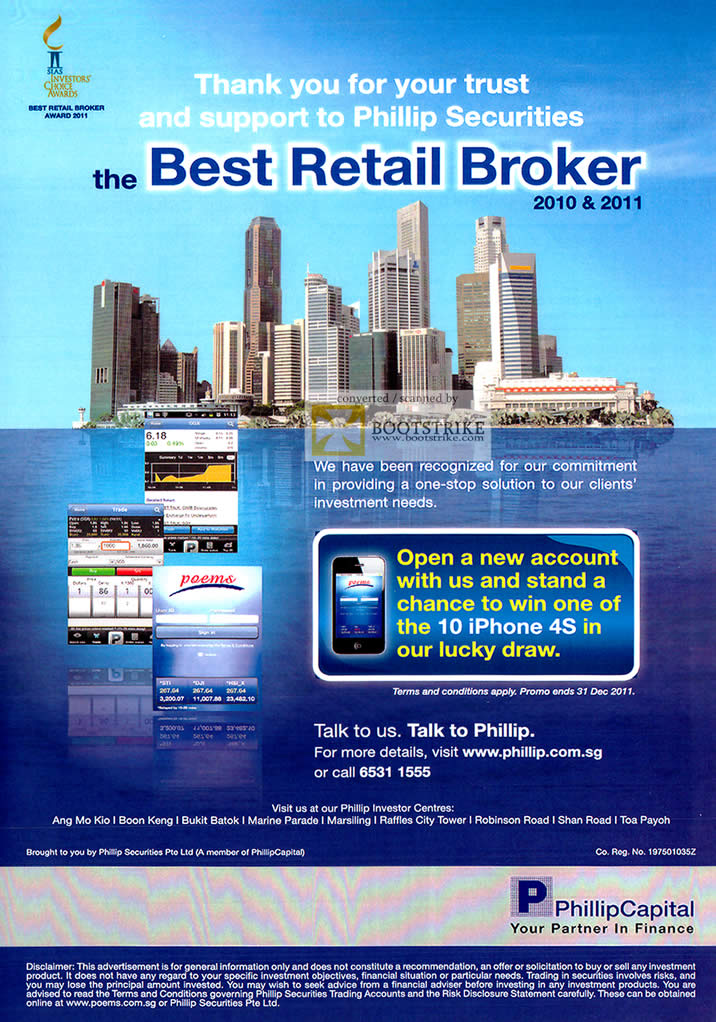 Retail brokers in singapore